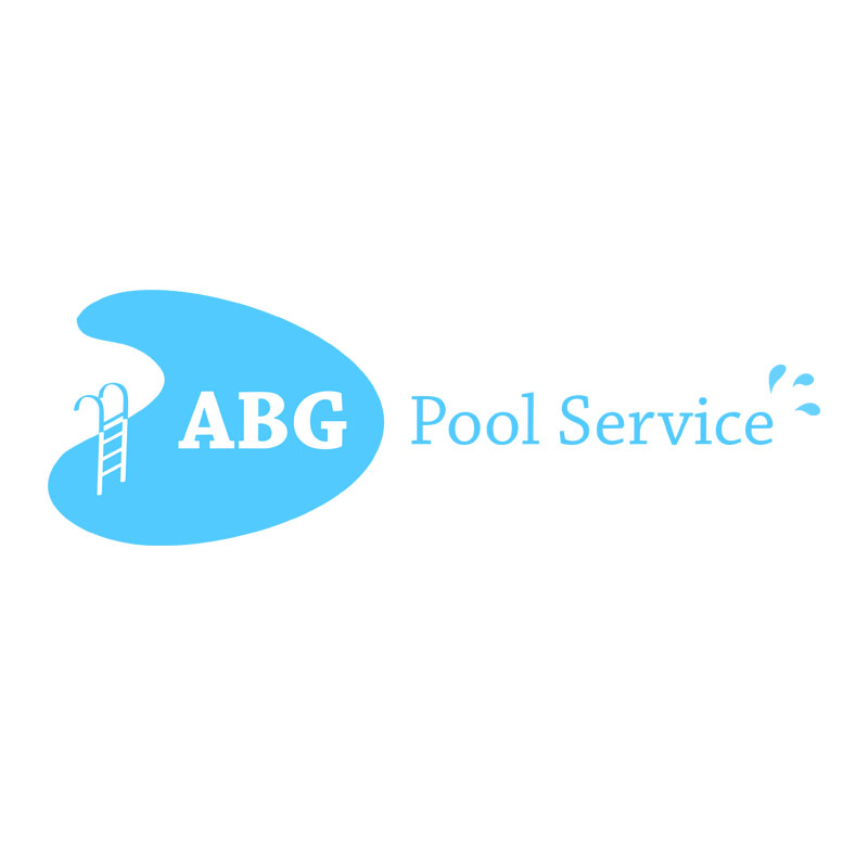 ABG Pool Service Logo Design by ArpiDesign.com