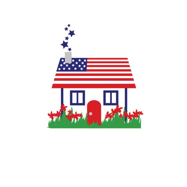 American Sweet Homes Health Care Logo Design by ArpiDesign.com in Glendale CA