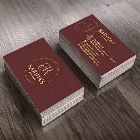 Bakery Business Card Design in Glendale