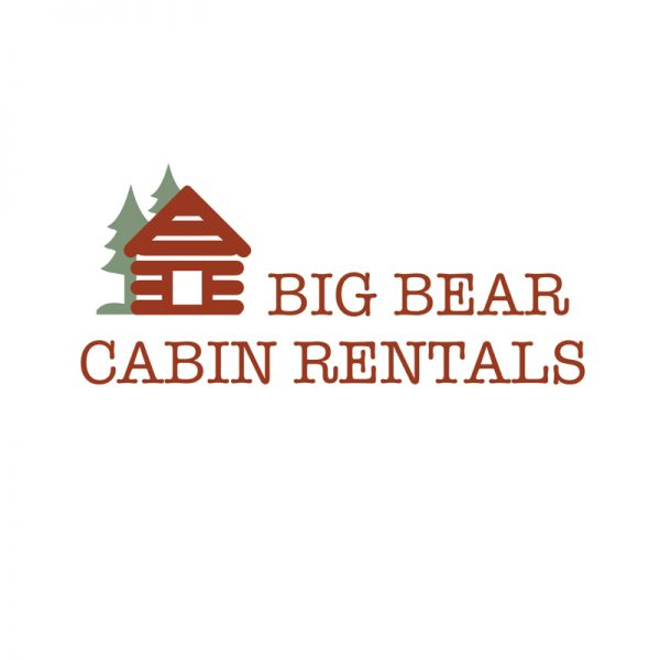 Cabin Rental Logo Design fro Big Bear Cabin Rentals