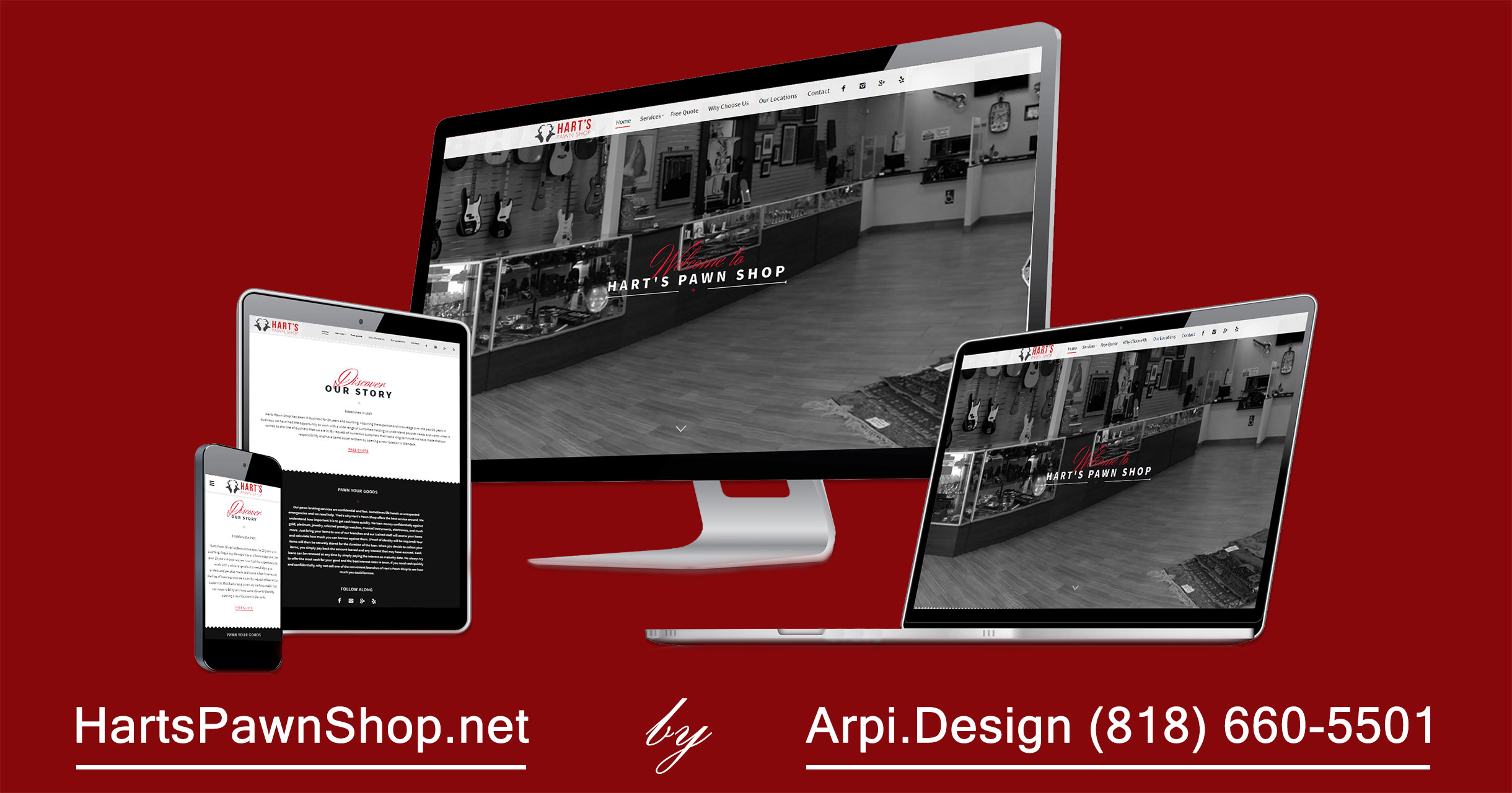 Business WordPress Website Redesign and Development in Los Angeles