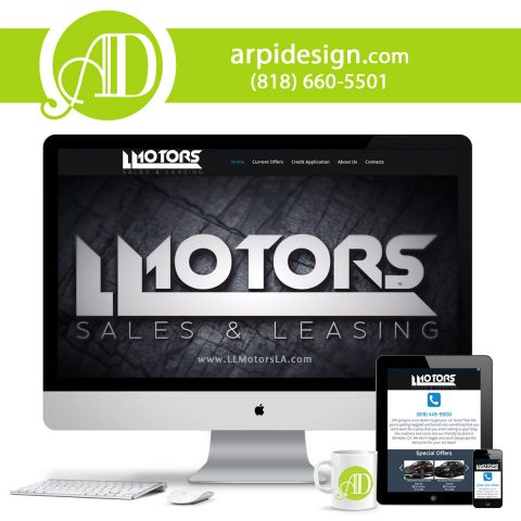 Car Dealership Website Design in Los Angeles