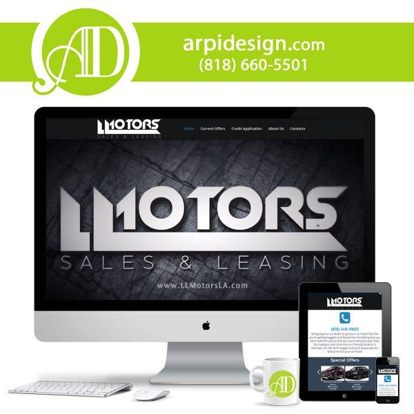 Car Dealership Website Design in Los Angeles