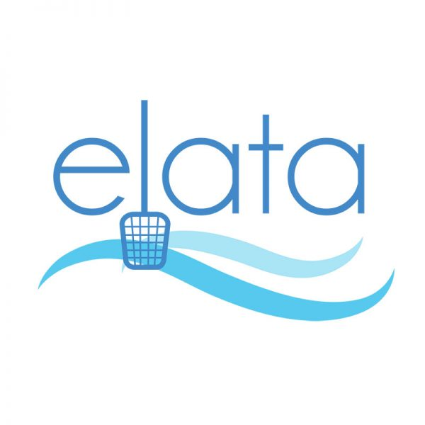 Elata Pool Service Logo Design