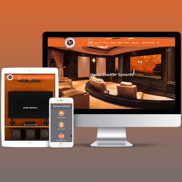 Home Automation Website Design