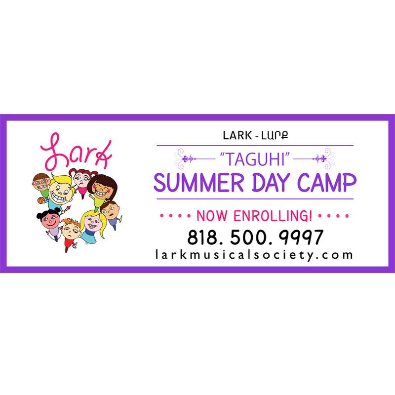 Lark Summer Day Camp Banner