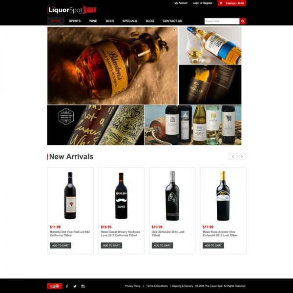 Liquor Store Website Design and SEO in Los Angeles