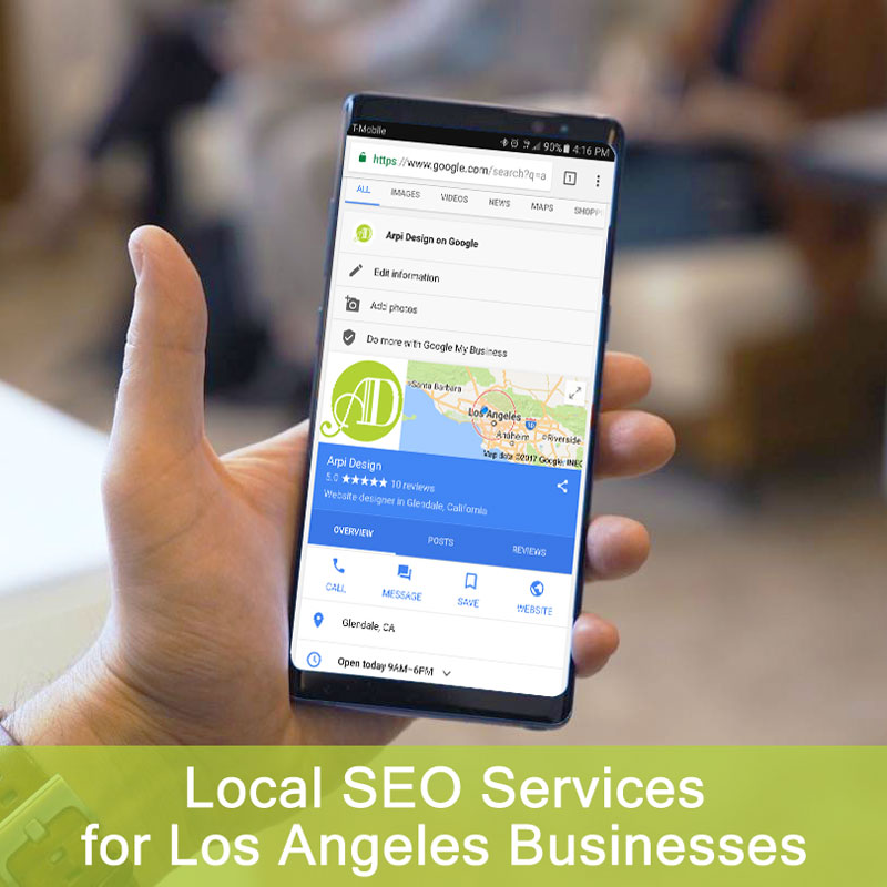 Local SEO Services for Los Angeles Businesses