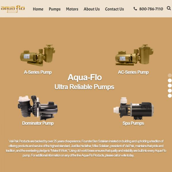 Manufacturing Company Website Design in Los Angeles