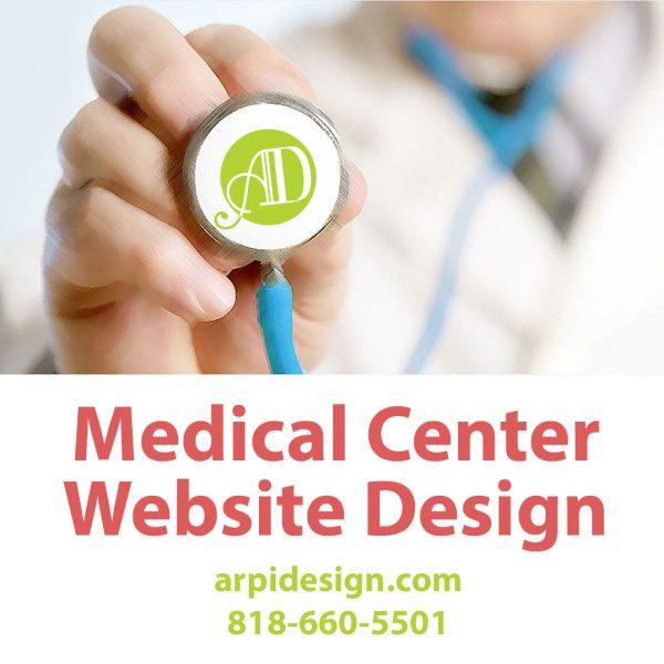 Medical Center Website Design in Los Angeles