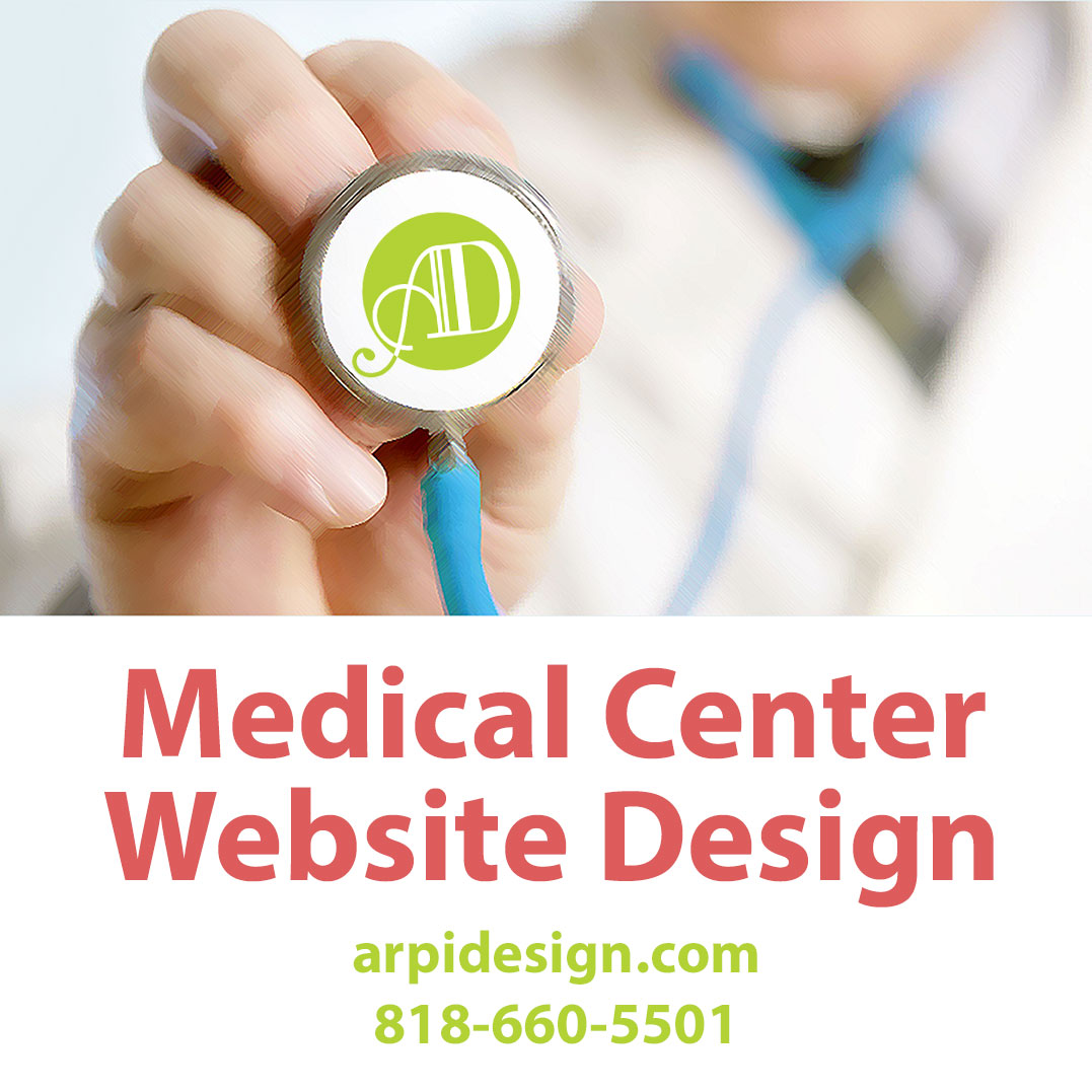 Medical Center Website Design in Los Angeles