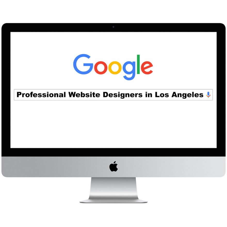 Professional Website Designers in Los Angeles
