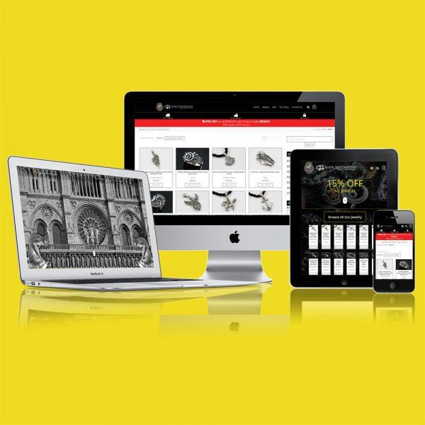 Responsive eCommerce Online Shop Website Design