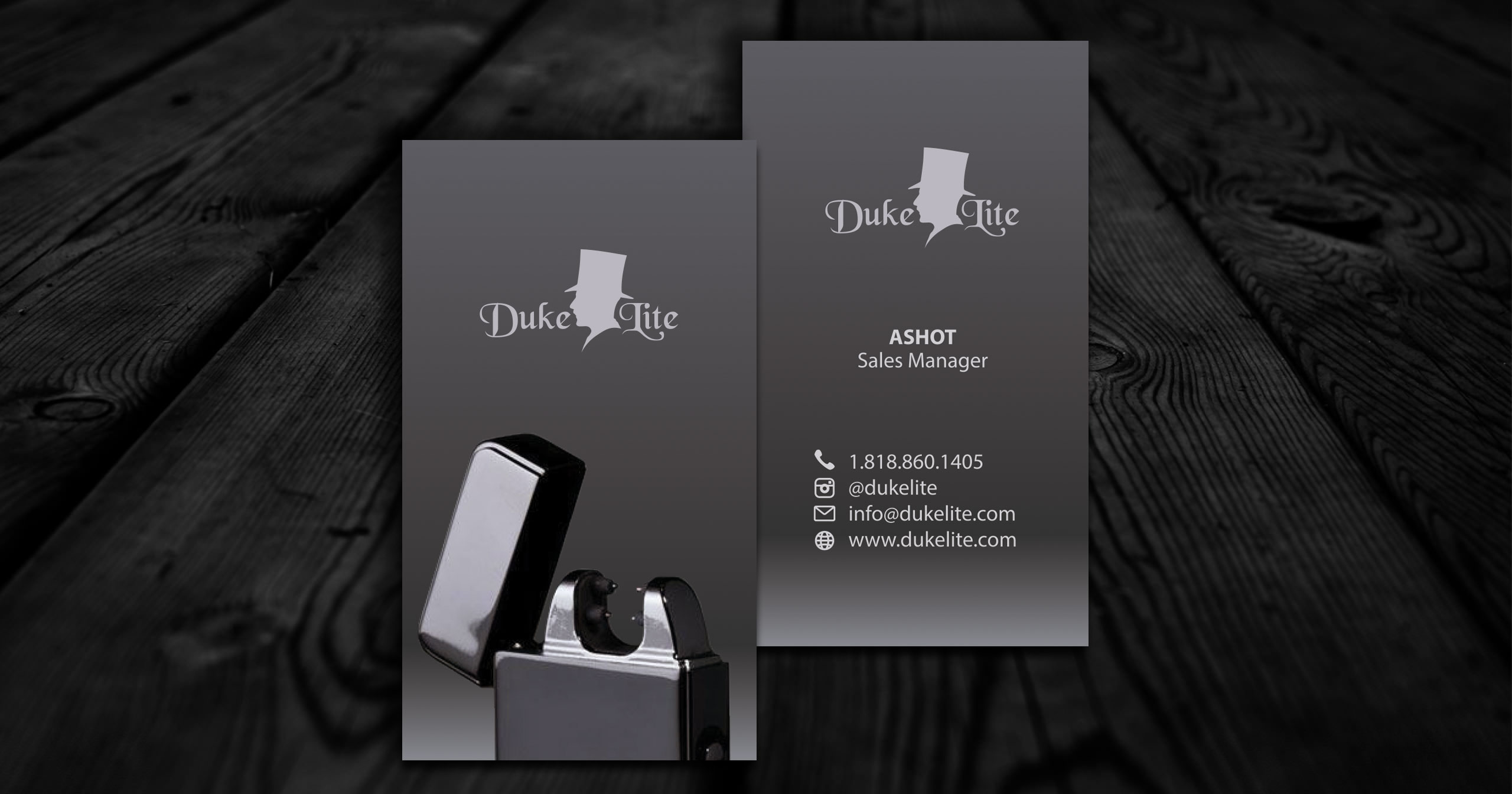 Simple Business Card Design in Los Angeles
