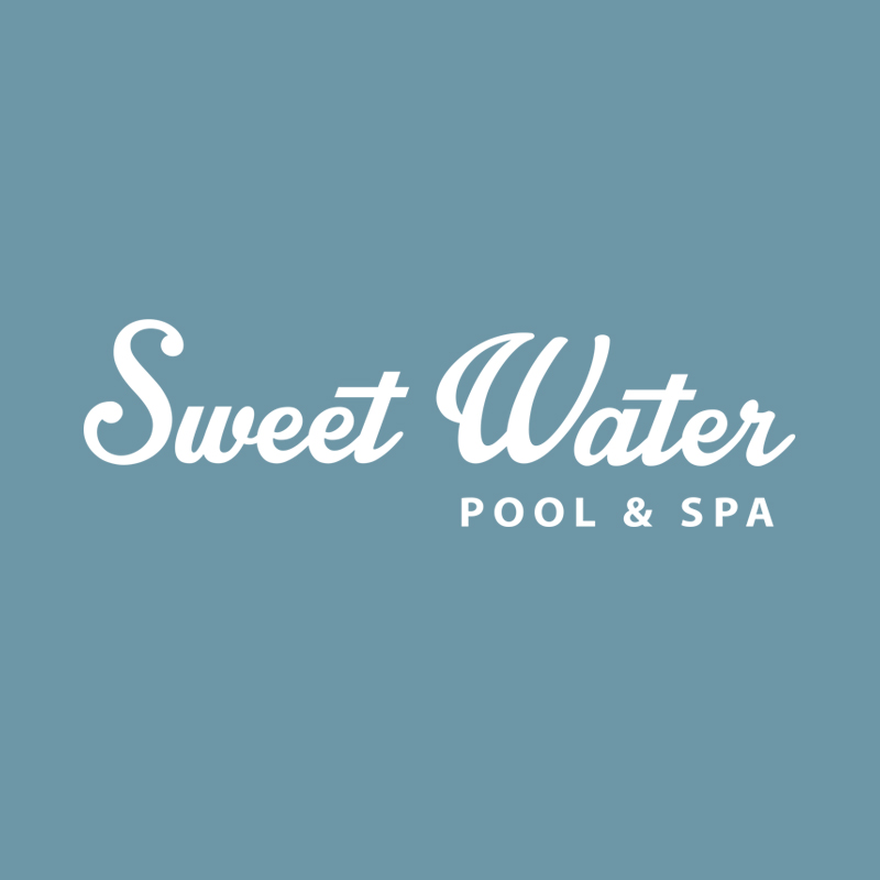 Sweet Water Pool & Spa Logo Design by ArpiDesign.com in Glendale CA