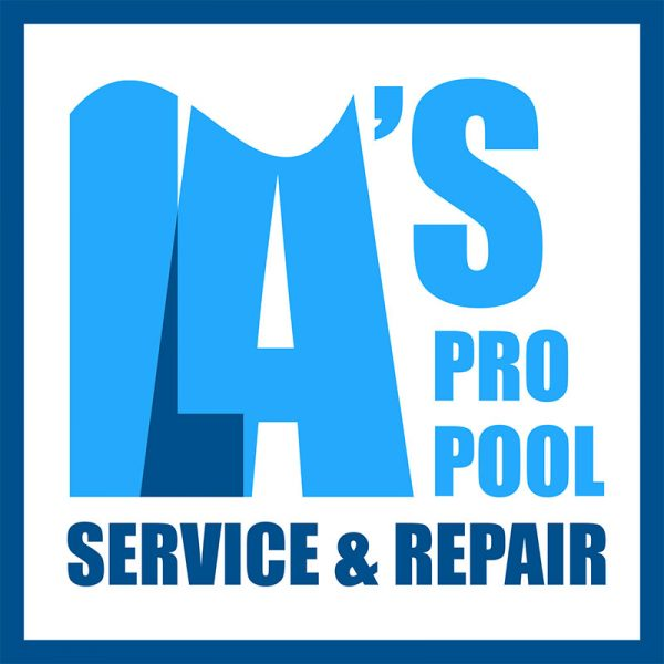 Swimming Pool Service Logo Design