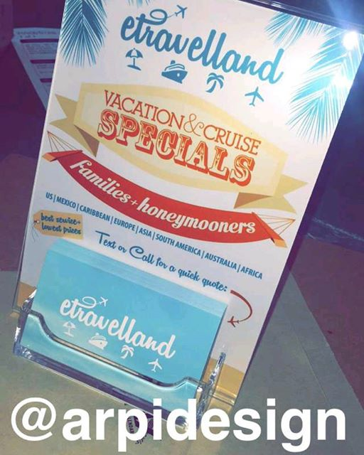 Travel Agency Flyer Design for eTravelland in Burbank