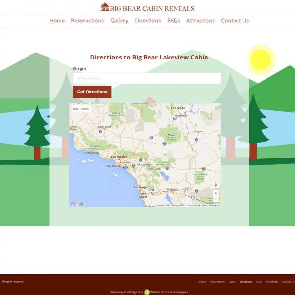 House Renting Website: Vacation Home Rental Website Design In Los Angeles