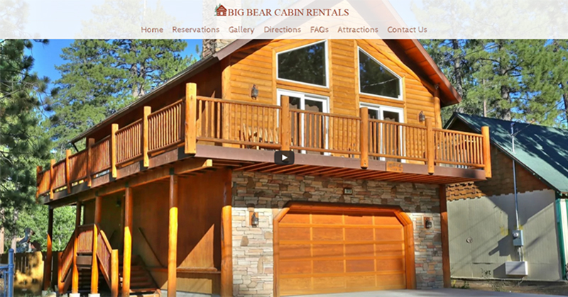 Vacation home rental website design in los angeles for Los angeles monthly rentals
