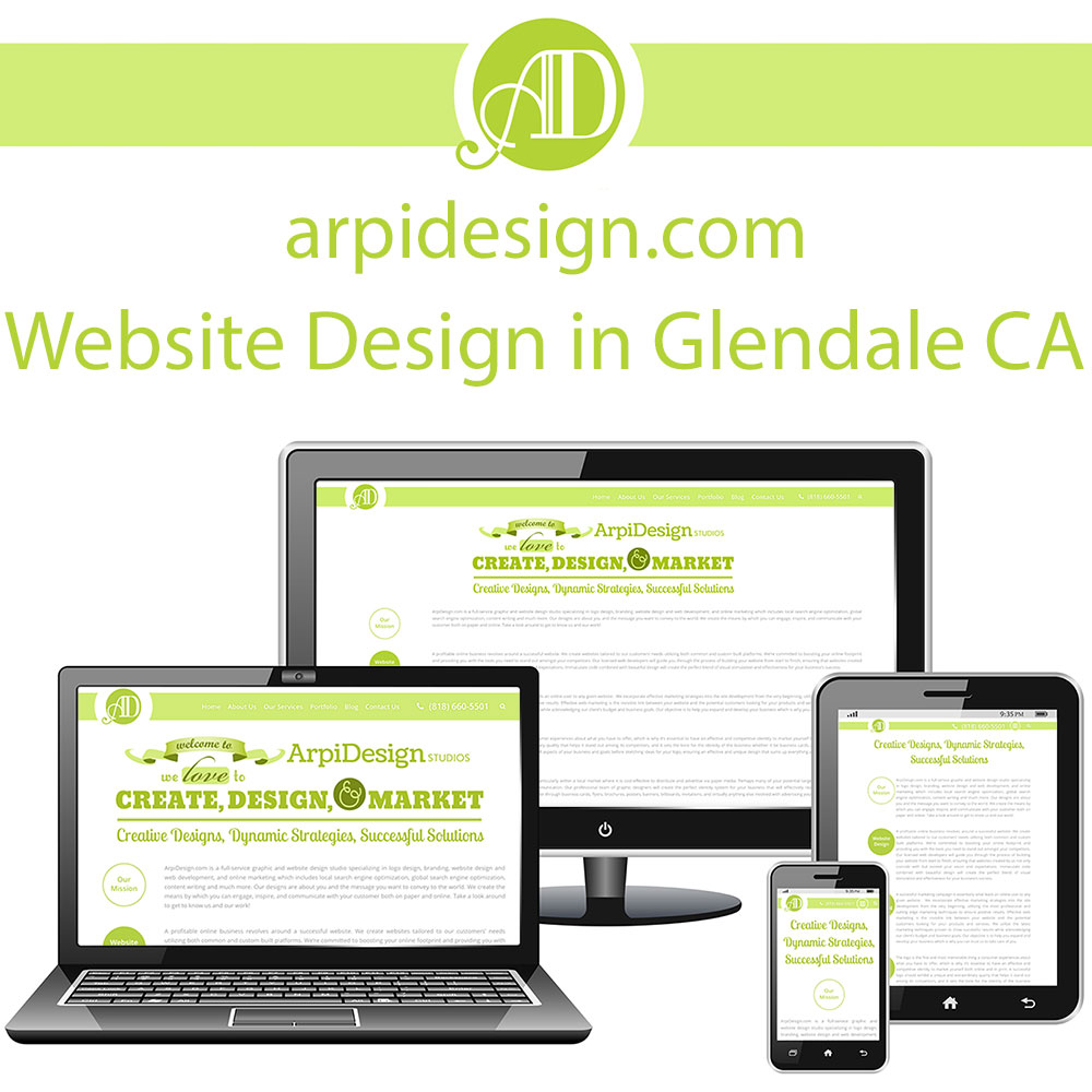 Website Design in Glendale CA